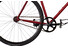 Creme Vinyl Solo - Bicicletas single-speed - singlespeed/fixed gear rojo